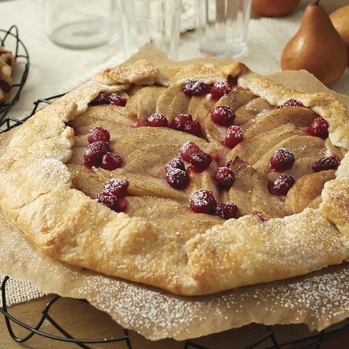 Cranberry Pear Galette | Wilton Cake Decorating