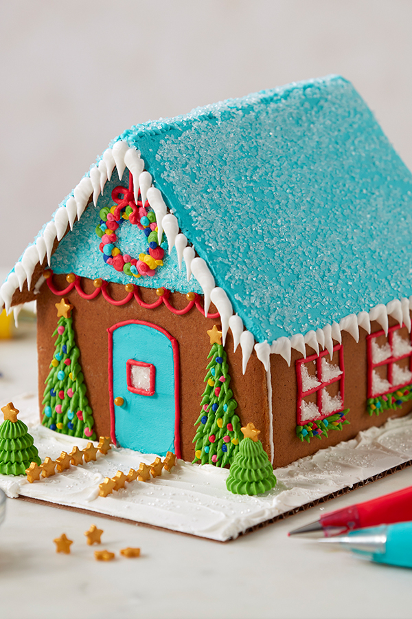 How to decorate a gingerbread house - How to decorate my home ...