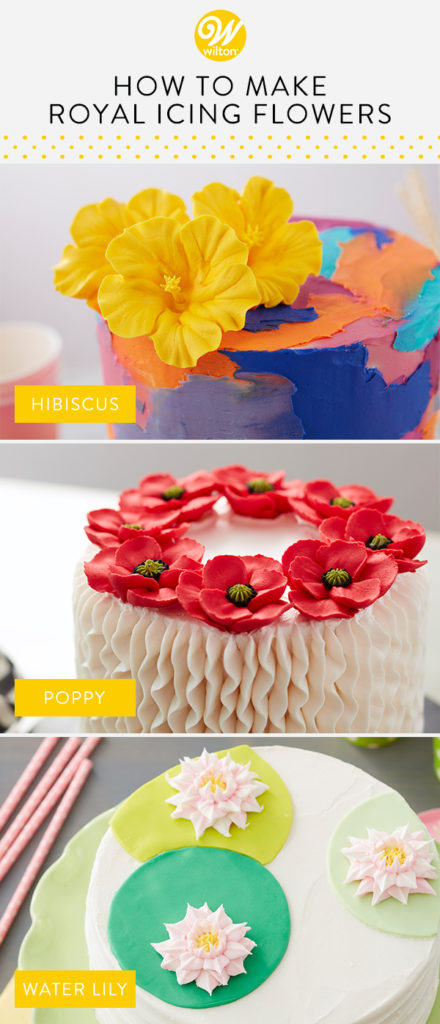 How To Make Royal Icing Flowers The Wilton Blog