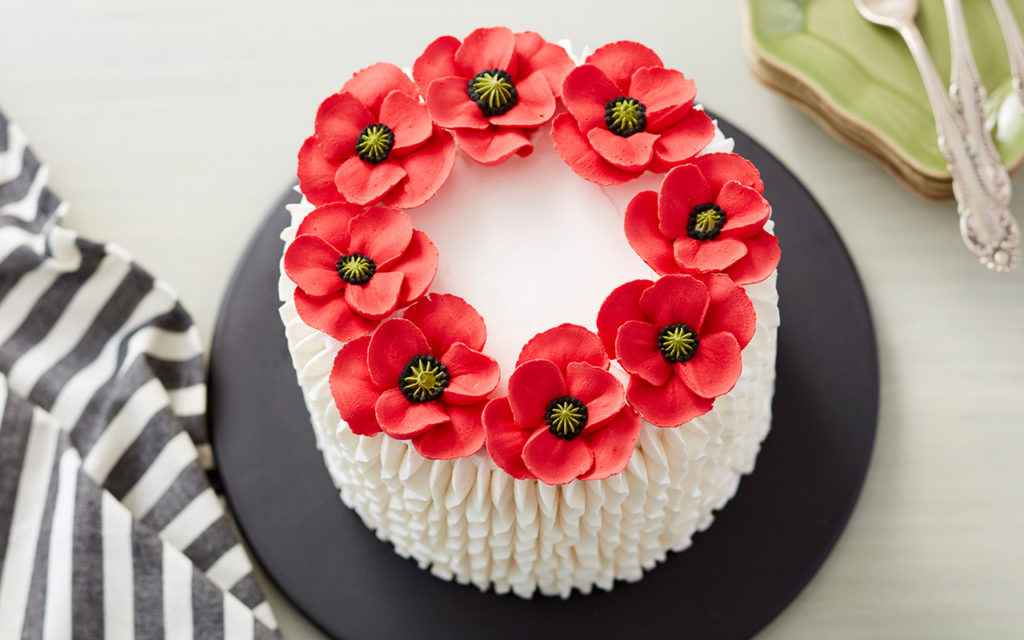 How to make lily flower with royal icing