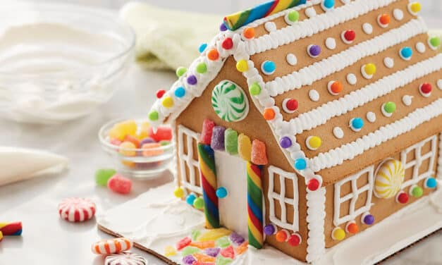 How to Make Gingerbread House Icing