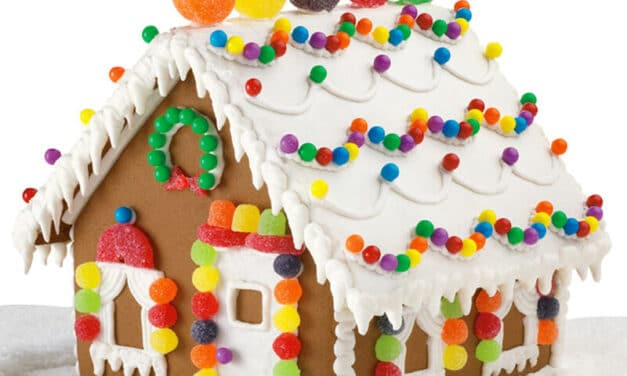 26 Cute Gingerbread Houses
