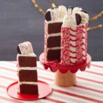 Chocolate Peppermint Cake with Peppermint Buttercream
