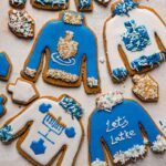 Ugly Hanukkah Sweater Cookies