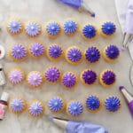 How to Make Purple Buttercream Frosting